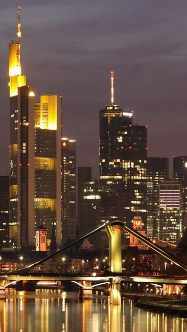 Frankfurt, Germany, Our home for three years, lived in ...