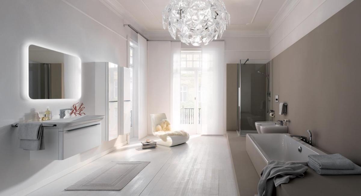Главные тренды в дизайне ванных комнат Прямиком из Европы