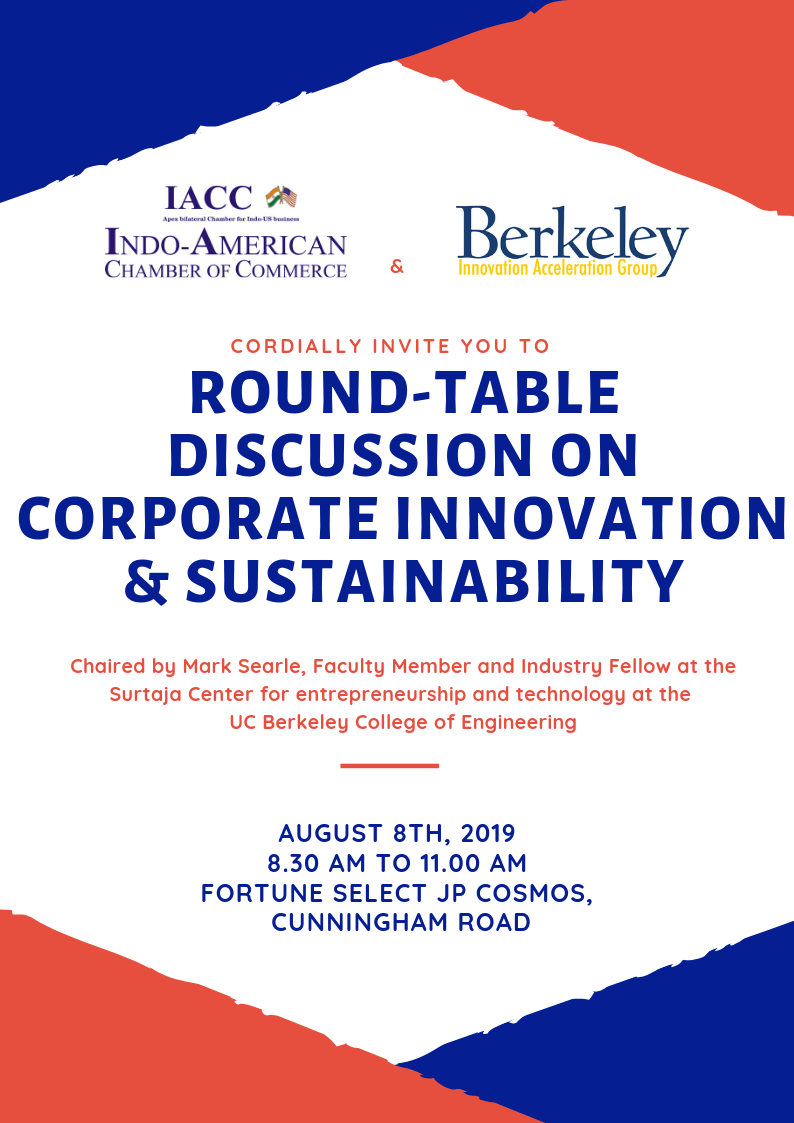 Round Table Discussion Innovation Sustainability Berkeley College