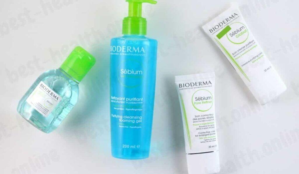 تجربتي مع كريم بيوديرما للمسام الواسعة Bioderma Cream Bioderma Shampoo Bottle