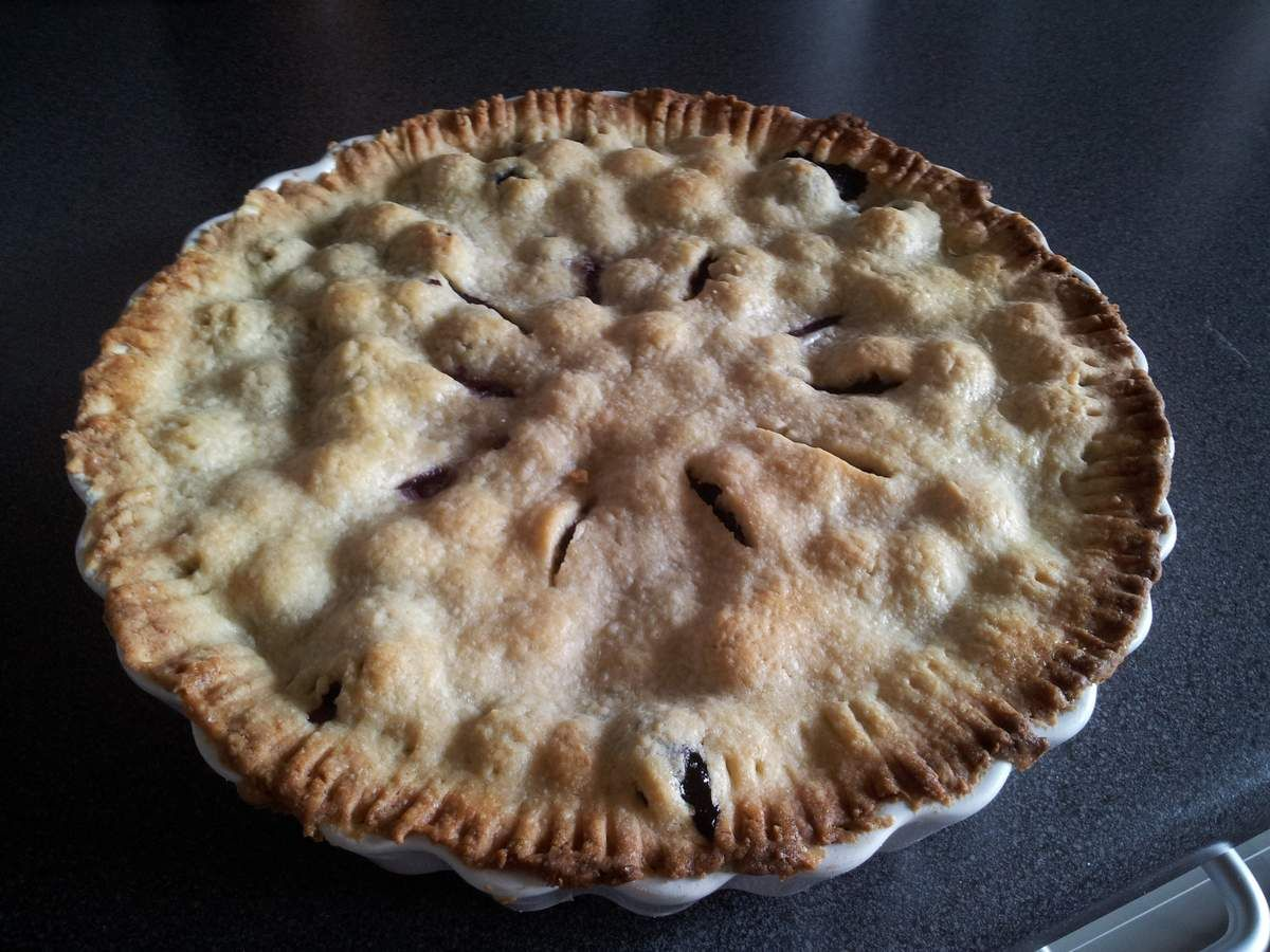 National Blueberry Pie Day Blueberry pie recipes, Easy