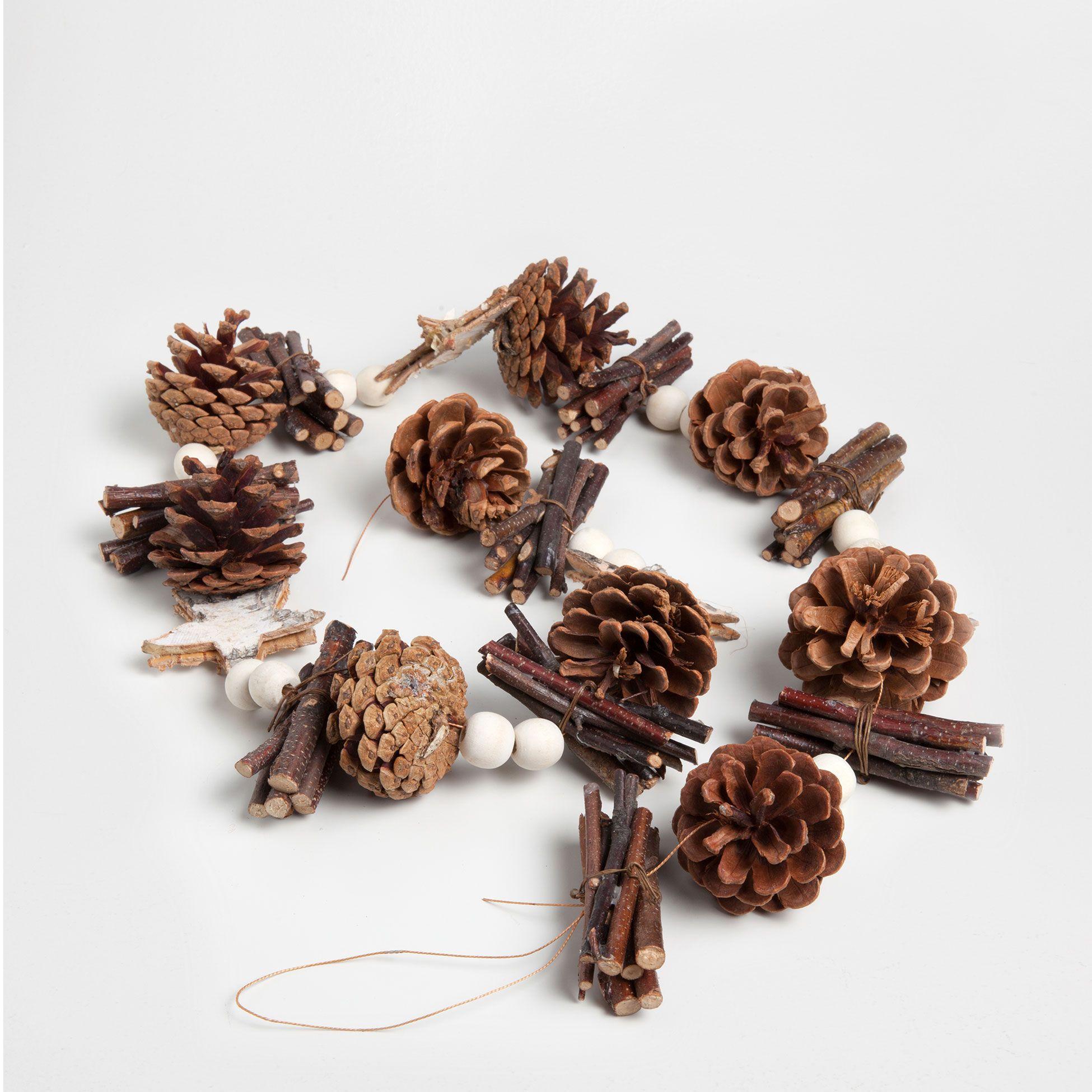 GUIRNALDA RÚSTICA - Decoración - Colección - Navidad | Zara Home ...
