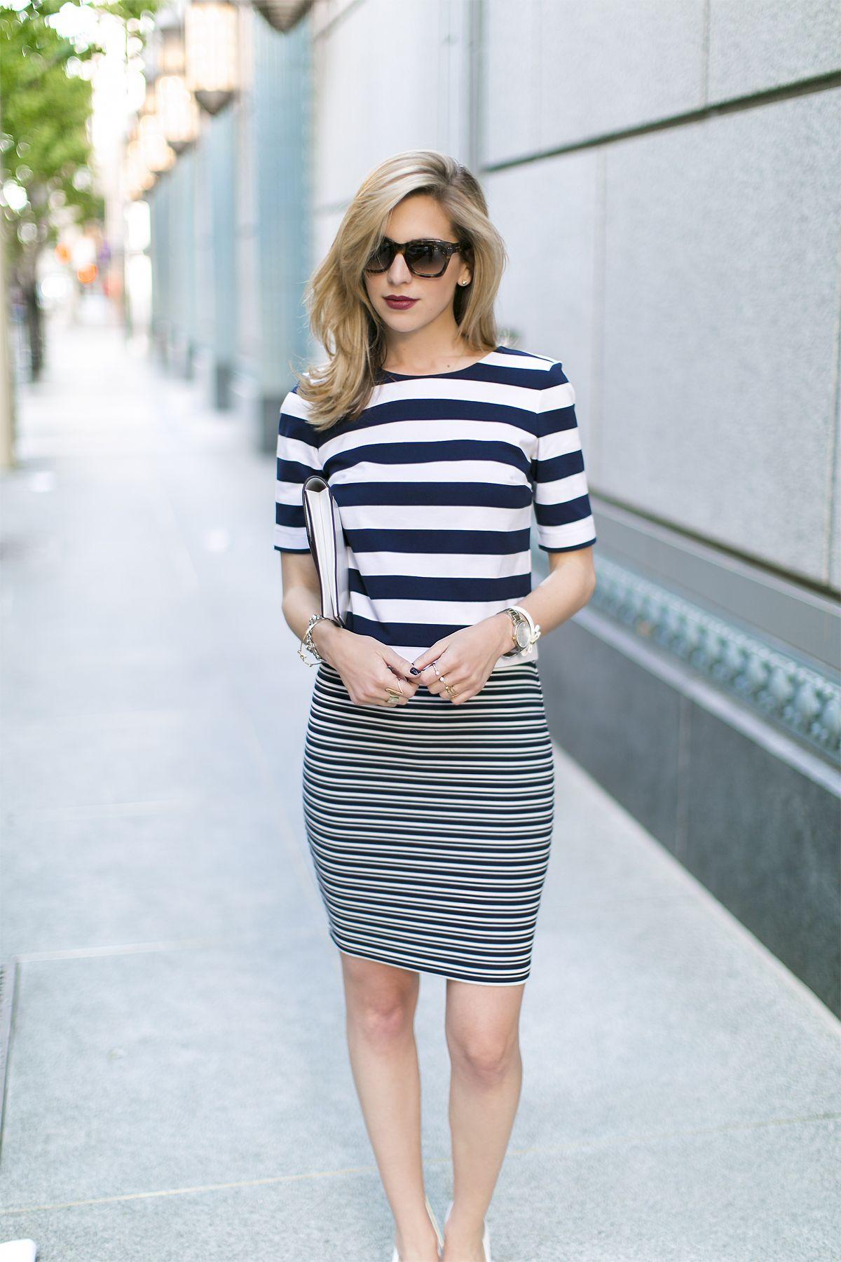 cc65949eae how to wear stripes on stripes