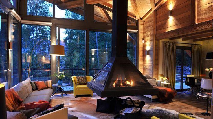 58 wooden cabin decorating ideas | home design ideas, diy, Innenarchitektur ideen