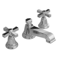 Superb Kohler K 13132 3A CP Polished Chrome Pinstripe Pure Widespread Lavatory  Faucet With Cross Handles By Kohler
