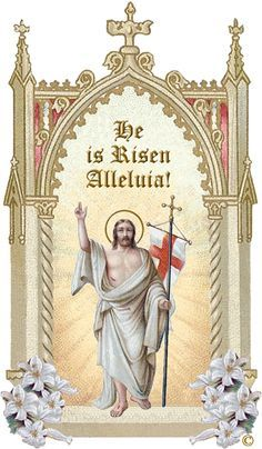 Catholic Easter Symbols Google Search Catholic Easter Easter Christian Christ Is Risen