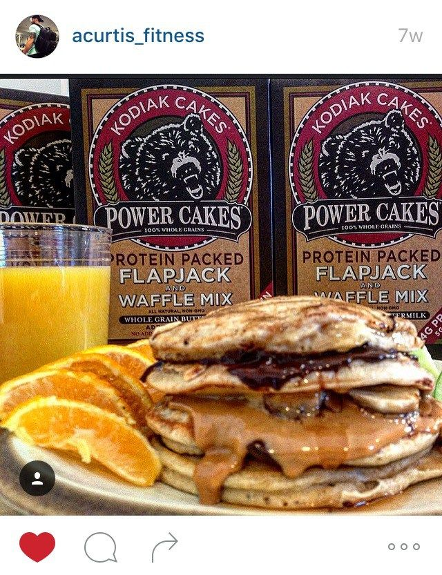 The Ultimate Kodiak Cake Pancake Stacks Recipe Alex Curtis Kodiak Cakes Kodiak Cakes Pancakes Kodiak Cakes Recipe