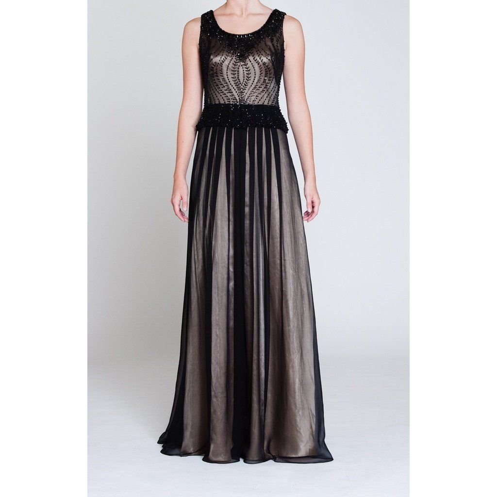 Look silk gown lead time and colour black