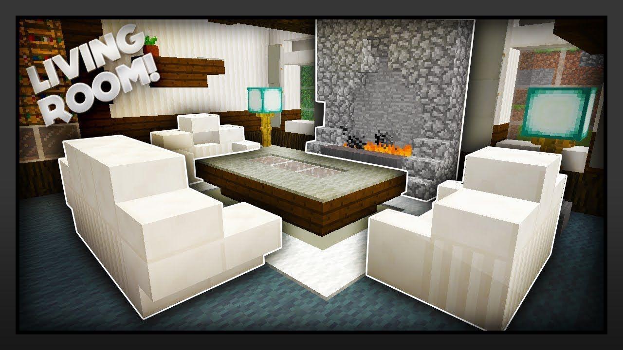 Modern Living Room Ideas Minecraft Living Room In Minecraft Living Room Modern Traditional Living Room