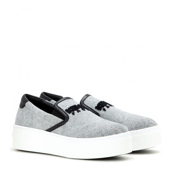 Kenzo Slip-on Platform Sneakers Buy Best Cheap Pre Order For Sale Free Shipping Shop For Online Cheap Wide Range Of k424A8S
