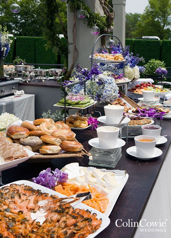 Everyone loves brunch and your wedding is no exception for Food bars for weddings
