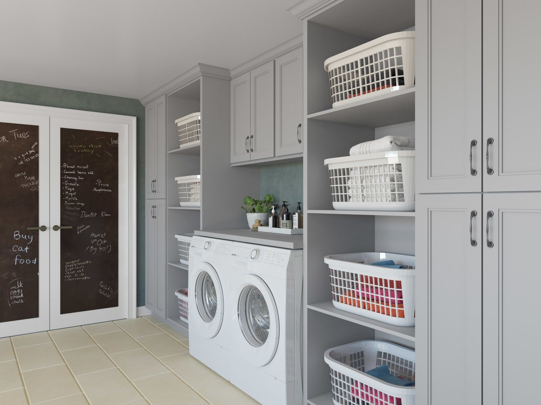 Pin On Mudroom Laundry Room Closet Organization