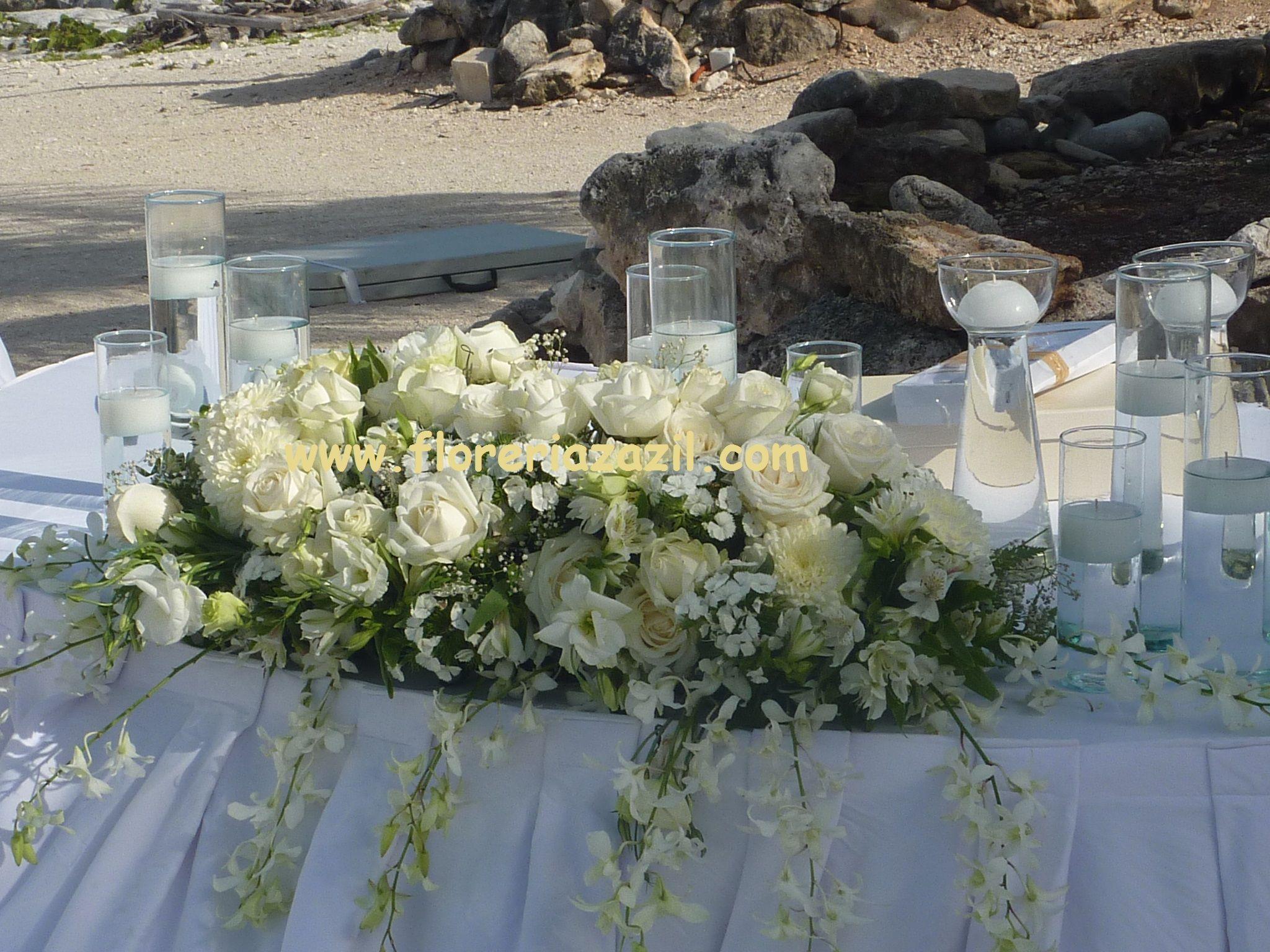 Bodas en playa boda en canc n decoraciones florales for Decoracion en cancun