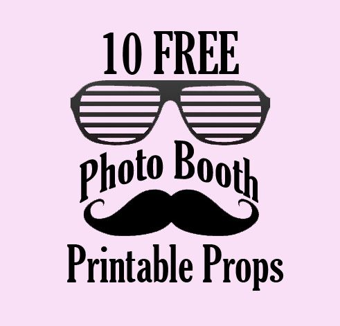 graphic about Free Printable Wedding Photo Booth Props referred to as 10 Absolutely free Image Booth Prop Printables Commencement Photograph
