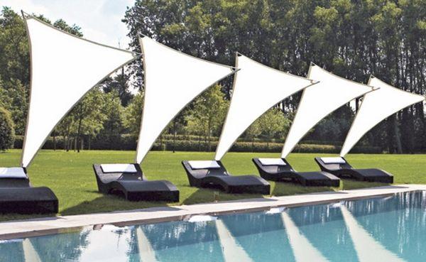 Outdoor Swimming Pool Shade Ideas Paraflex Umbrellas Modern Patio  Decorating Ideas
