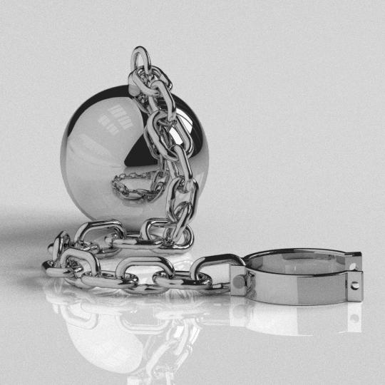 Ball And Chain Ball Chain Chain Ball Design Model