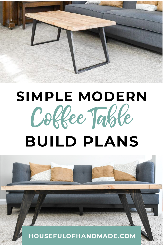 Simple Modern Coffee Table Build Plans Modern Coffee Tables Coffee Table Design Modern Coffee Table Farmhouse [ 1500 x 1000 Pixel ]