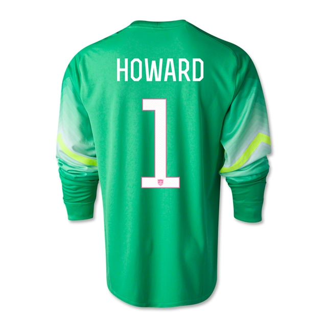 finest selection 96360 7adef howard jersey soccer