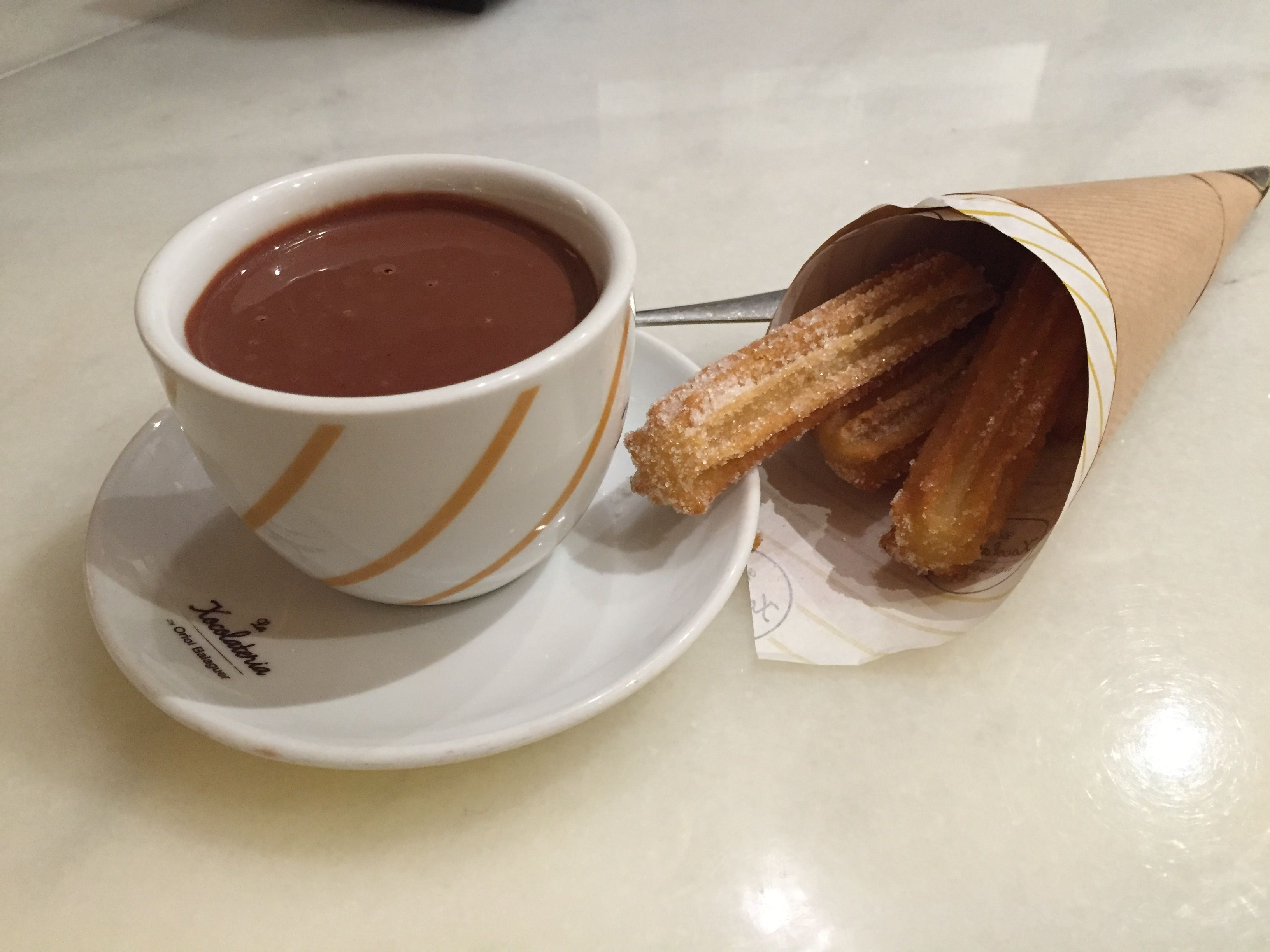 Chocolate conchurros- Barcelona 2015