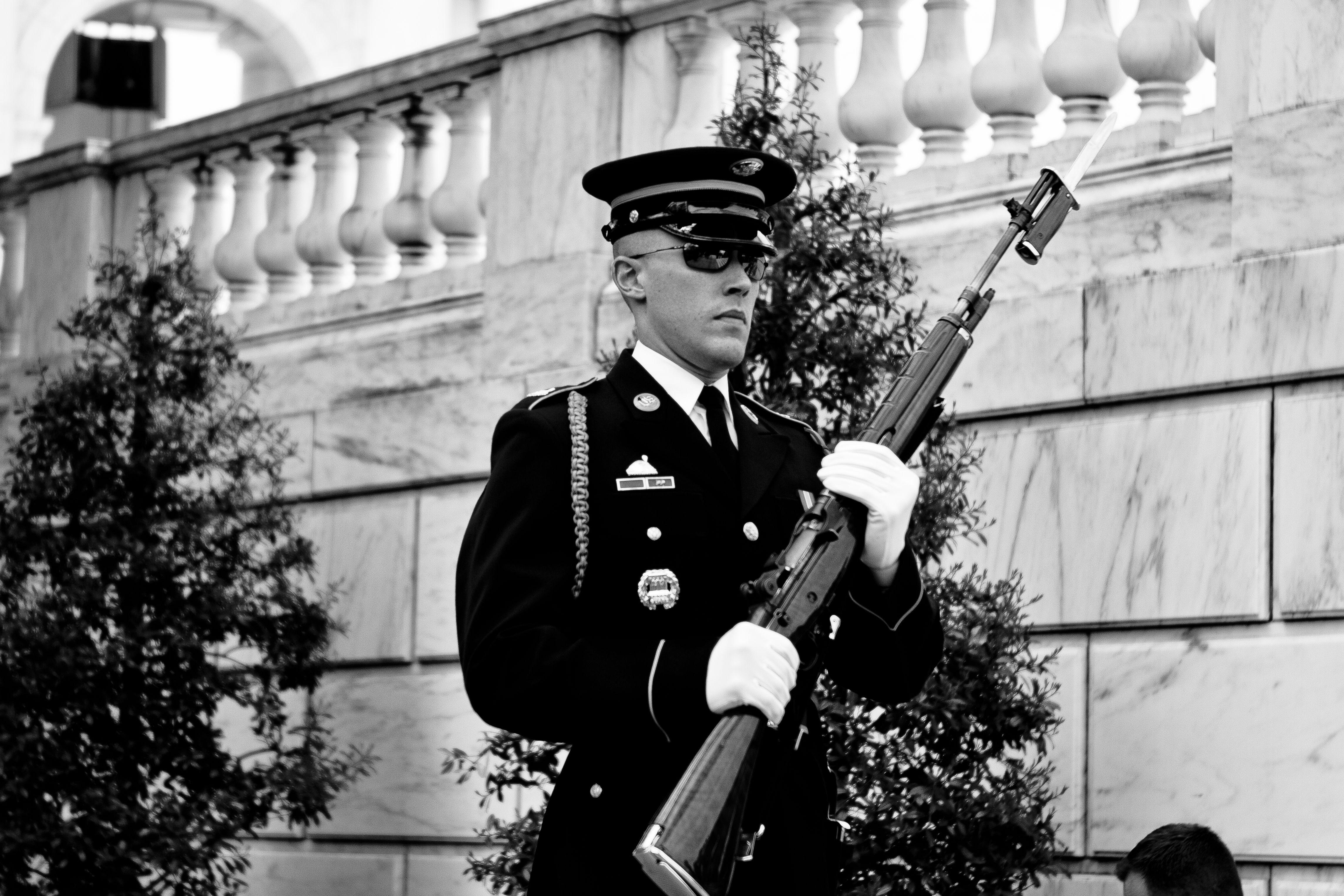 Honor Guard...Arlington Cemetery