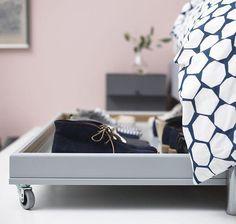 Under Bed Shoe Storage With Wheels 9 Ways To Make The Storage Under Your Bed Work Harder  Pinterest