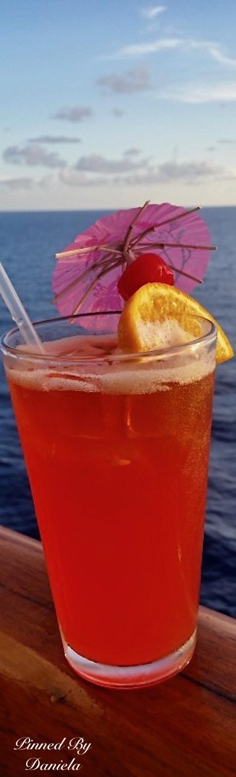 Caribbean Breeze Cocktail (Recipe)   Paradis Terrestre   Pinterest ...