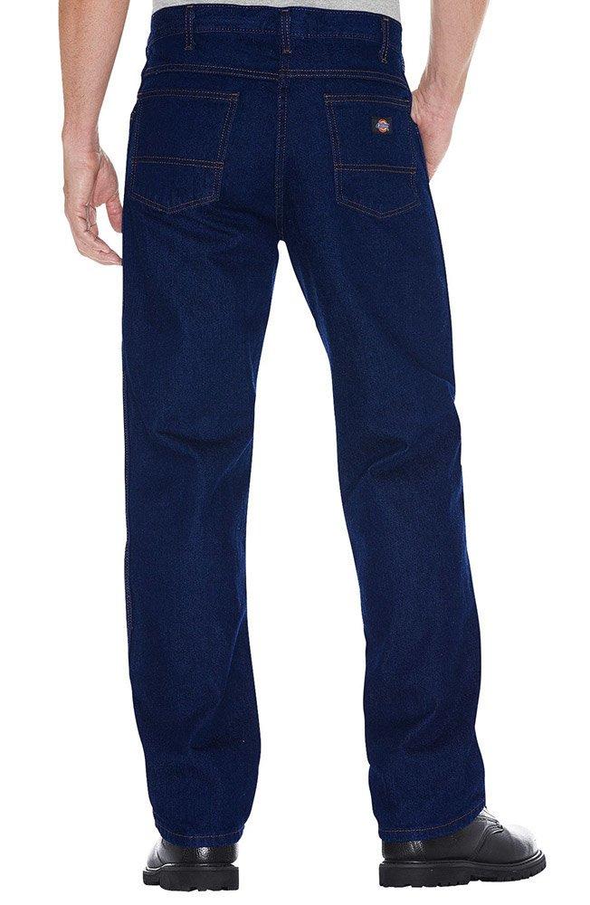 Dickies Indigo Blue Denim Loose Fit Work Shorts