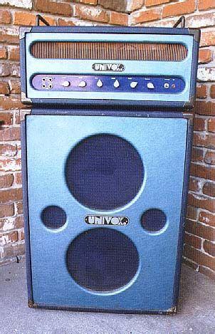 Univox Tube Head 2x12 Cab Vintage Guitar Amps Vintage Guitars Vintage Electric Guitars