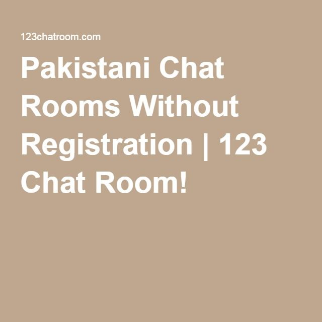 Pakistani Chat Rooms Without Registration  123 Chat Room -2999