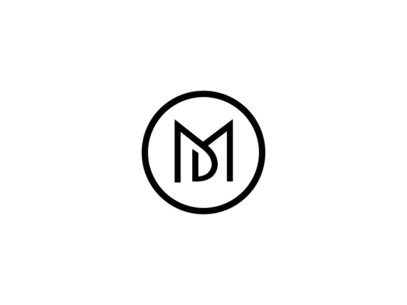 md logo by dribble
