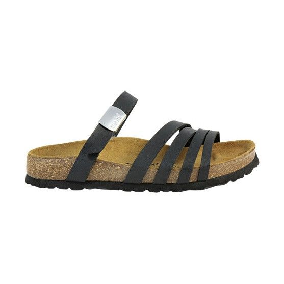 Birkenstock Betula Burma Birko Flor Black Sandals | Sandals