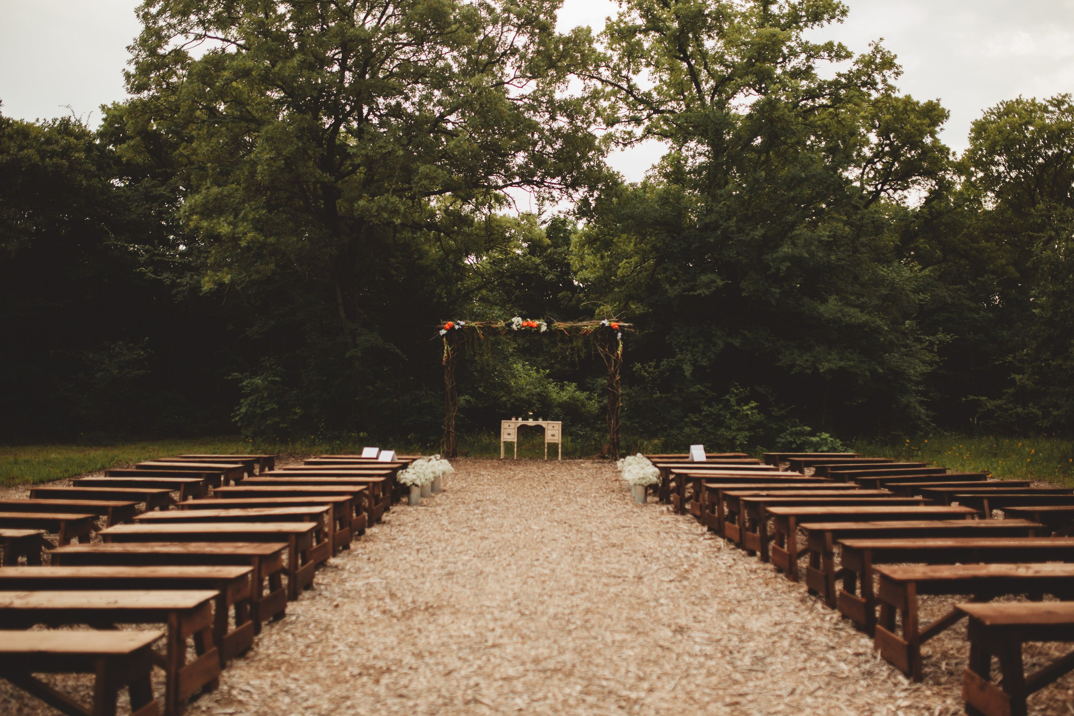 June wedding at The Grove in Aubrey, TX! Photography by
