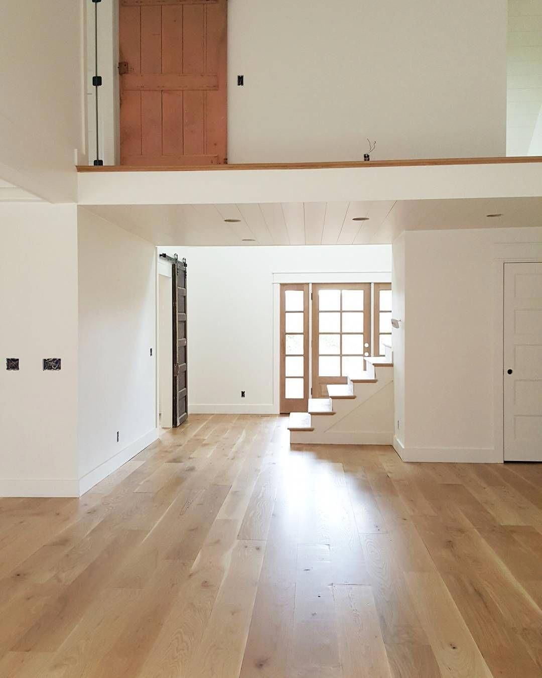 The Floors Are 8 Character Grade White Oak With A Water Based Natural Matte Poly Finish Woo White Oak Hardwood Floors Wood Floor Stain Colors Oak Wood Floors
