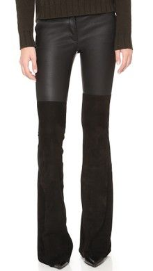 Blank Denim Faux Leather Flare Pants | SHOPBOP SAVE UP TO 25% Use Code: BIGEVENT16