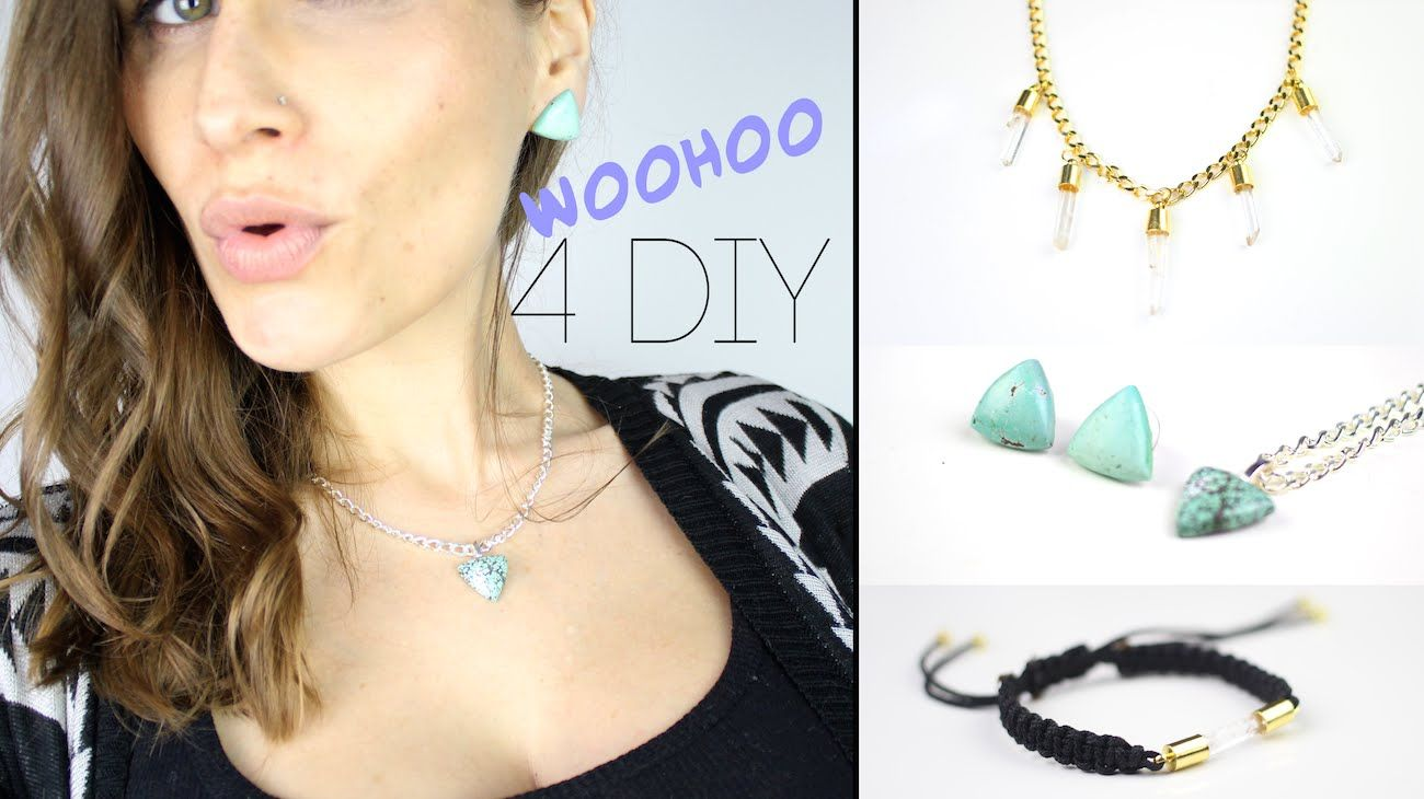 4 diy cadeau noel bijoux en pierres semi precieuses fait mains gem diy jewelry. Black Bedroom Furniture Sets. Home Design Ideas