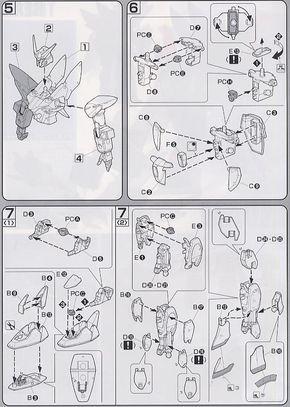 Blitz Gundam (1/100) (Gundam Model Kits) Assembly guide 3