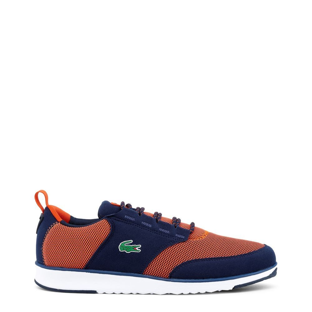 Lacoste 734SPM0021 LIGHT NVY-RED SIZE 7-13   LACOSTE SNEAKERS ... 2addebbf2f