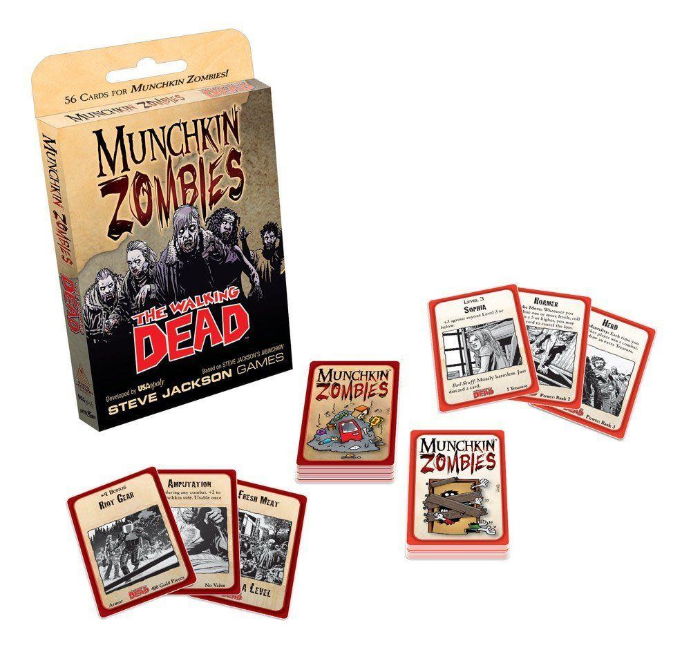Munchkin Zombies: The Walking Dead: Amazon.de: Spielzeug