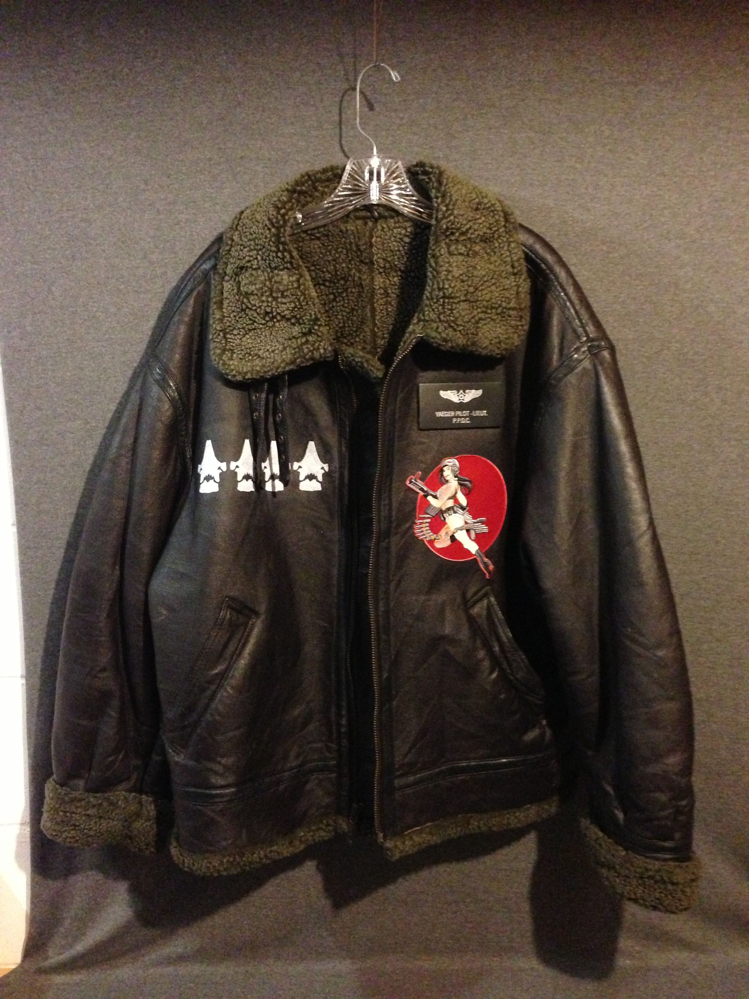 Pacific Rim Ranger Bomber Jacket   Things to Wear   Jackets, Bomber ... e3ad1b94bc