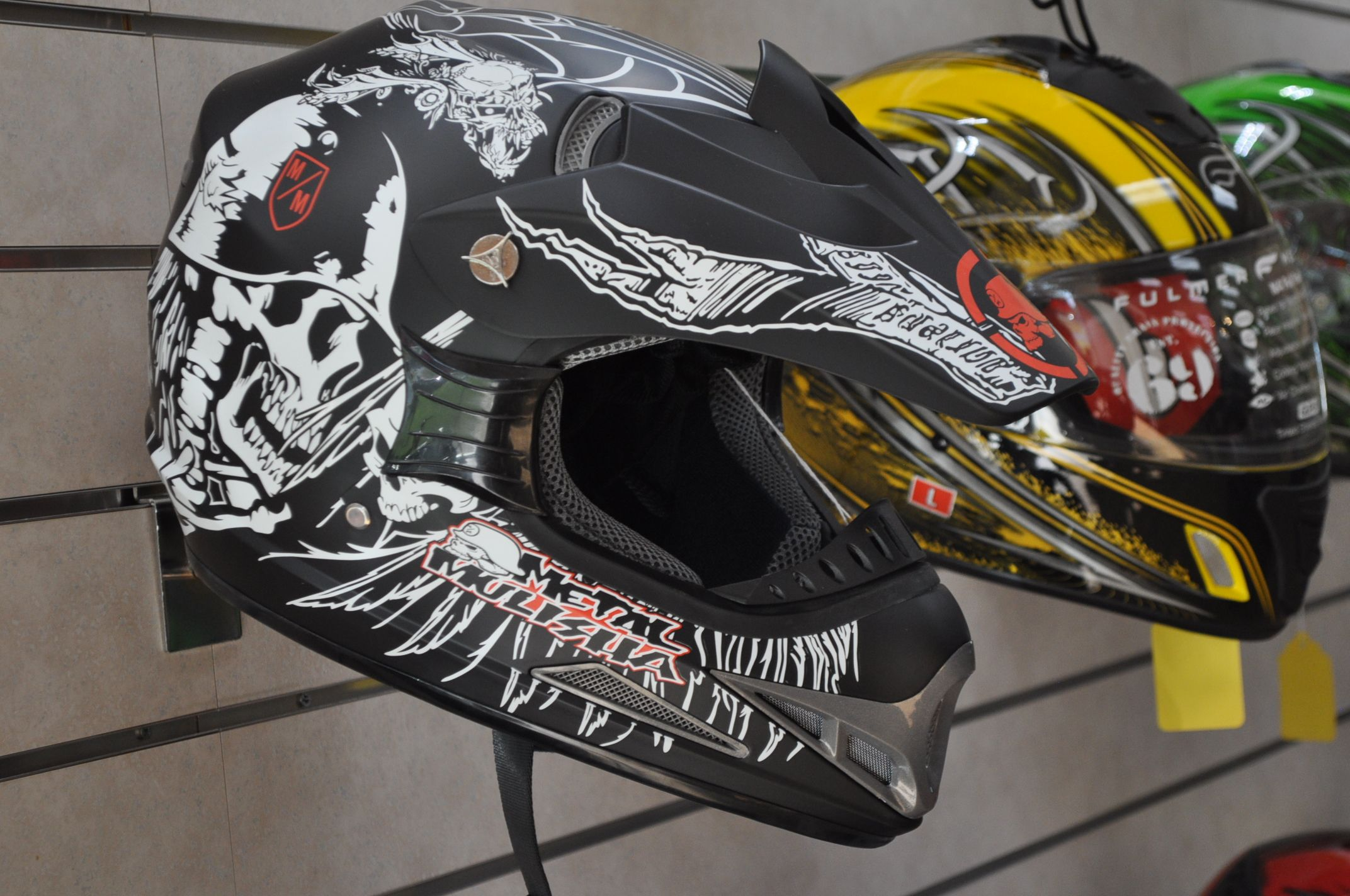 Get A 100 Dot Approved Motocross Helmet For Only 25 With Any Atv