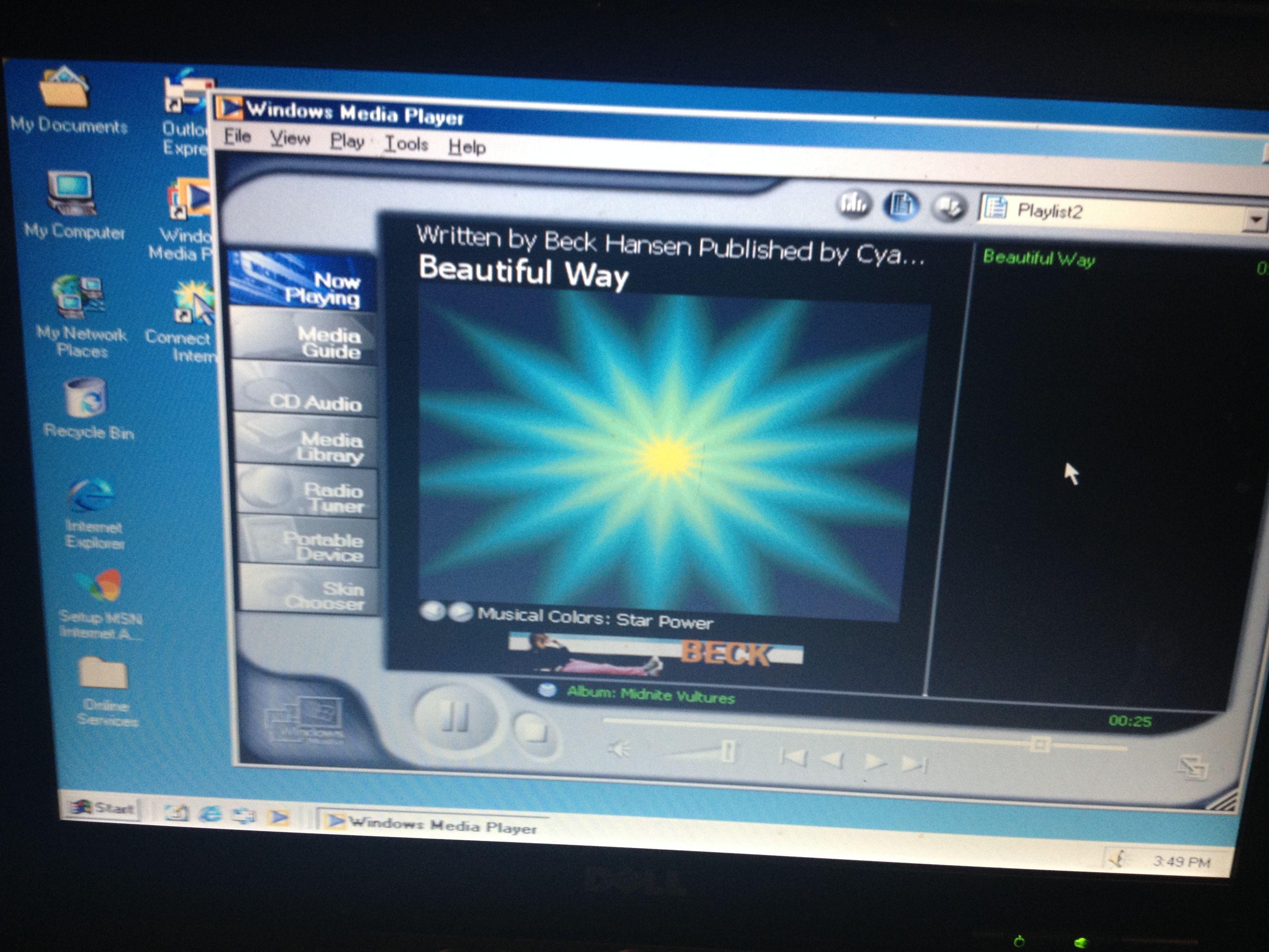 Windows Media Player 7 Now Playing | Windows Media Player ...