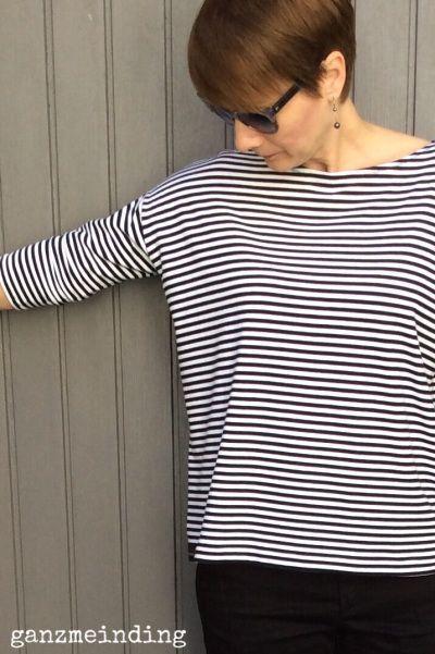 Superbe chemise oversize gratuite   – Schnittmuster große Größen