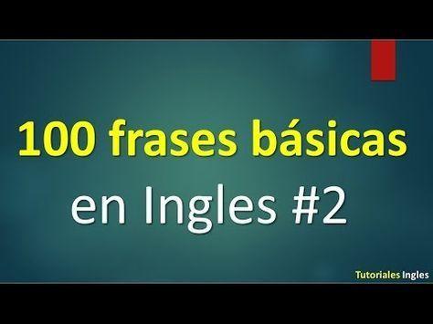 Las 1000 Frases Mas Comunes En Ingles Las 1000 Frases Mas