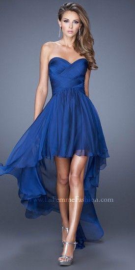 Promspiration Party Inspiration Vestidos De Gala Azul