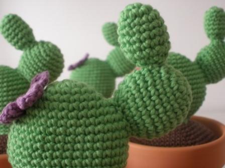 Amigurumi Cactus Crochet Pattern : Gateando crochet: patrón cactus amigurumi crochet: flores