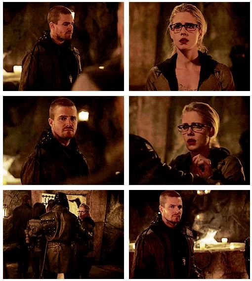 Arrow - Oliver & Felicity #3.22 #Season3 #Olicity ♥