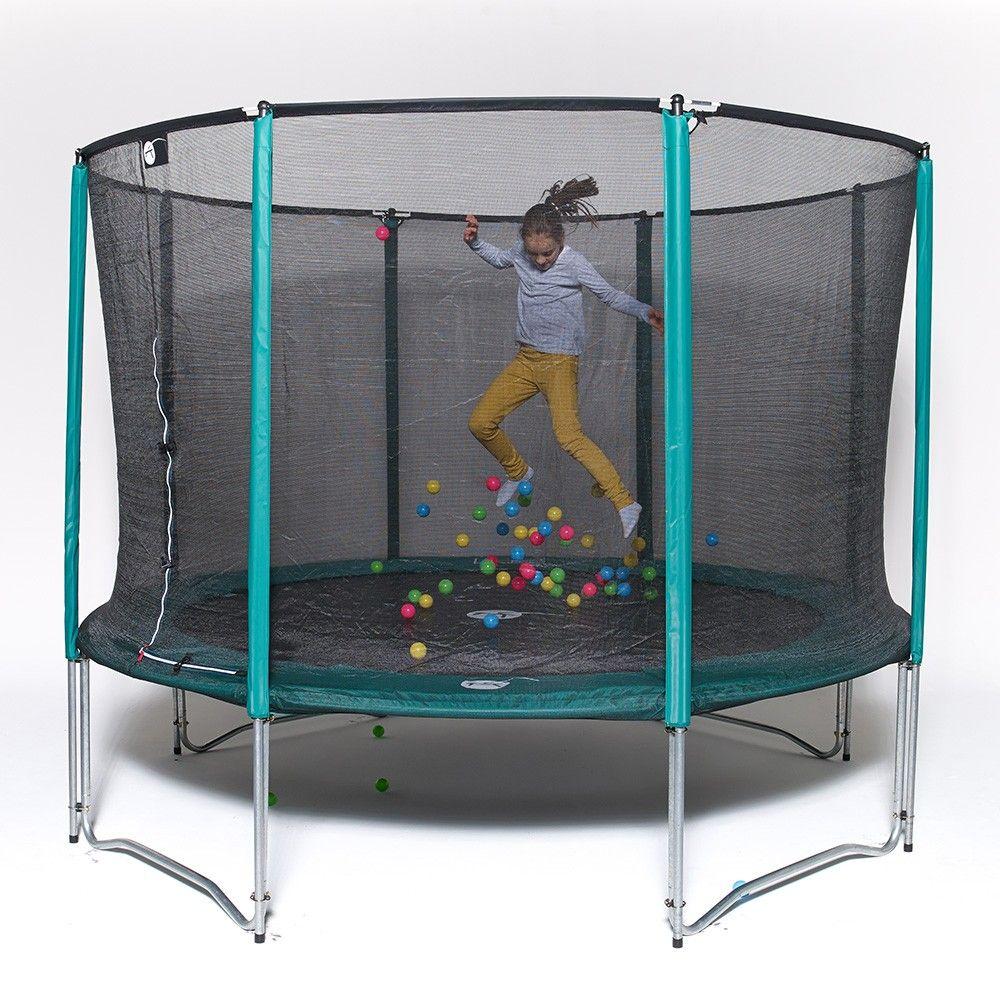 Trampolin Jump Up 250 Mit Netz Und Leiter Fur Privatgebrauch Trampolin Trampoline Gartentrampolin