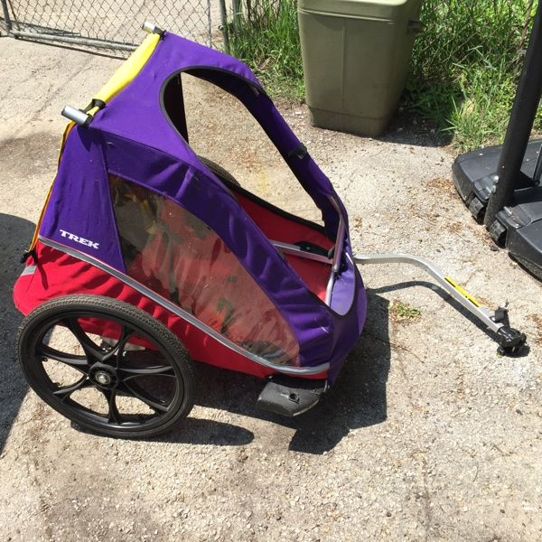 For Sale Trek Bike Trailer For 250 Bike Trailer Trek Bikes Baby Strollers