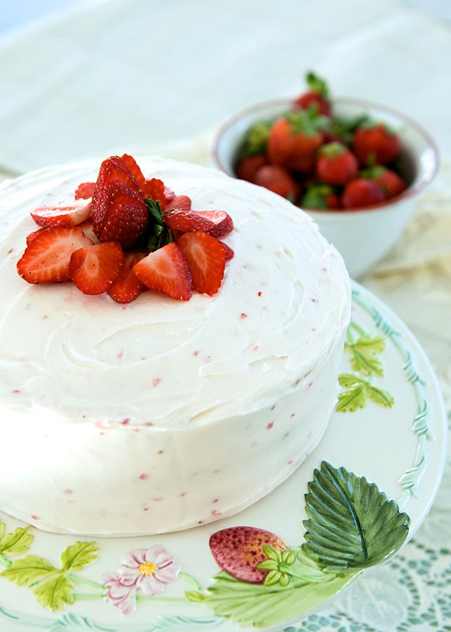 Fresh Strawberry Cake: A story of adapting a classic Southern recipe