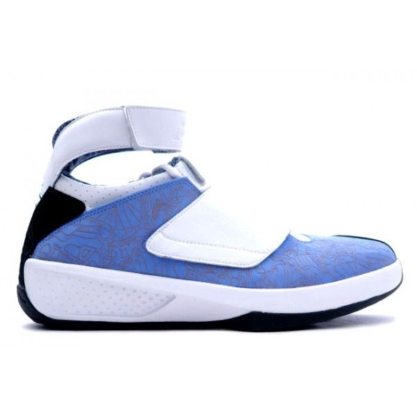 buy online 33c32 29c4f 310455 411 Air Jordan 20 University Blue   White http   www.fjuter